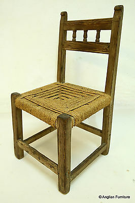 Small Rope Chair FREE Nationwide Delivery