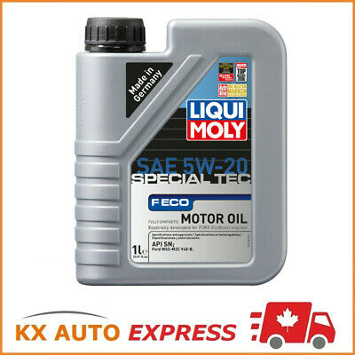 Liqui Moly Special Tec F ECO SAE 5W-20 Fully Synthetic Oil Ford WSS-M2C 948-B 1L
