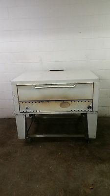 Single Deck Slate Deck Pizza Oven Tested No Tag Natural Gas