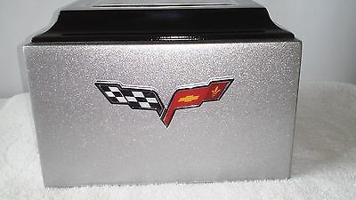 220 Corvette Silver Classic Car Collector Adult Cremation Urn