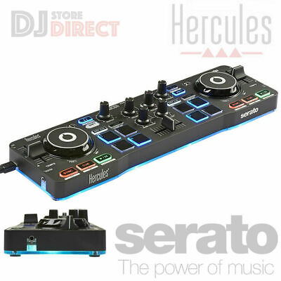 NUMARK DJ2GO2 Portable MINI Pocket sized DJ Controller USB MIDI AUX With SERATO