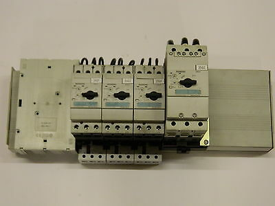 Rittal 40mm Busbar System 360amps 3PH Siemens 1x 63Amp 3x 32Amp Motor Starter