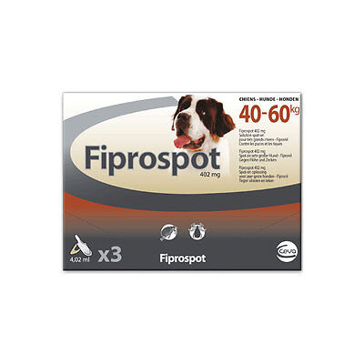Fiprospot Spot-On Très Grand Chien (40-60 kg) - 3 pipettes