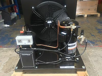 New 6Hp Copeland Scroll Condensing Unit, Zb45Ke, 3Ph, +7C / -30C Evap