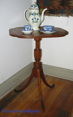 Federal Period Tilt Top Candle Stand c. 1820