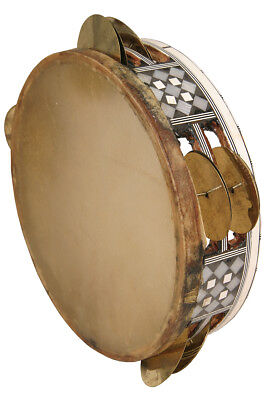 """Mid-East 8.5"""" Egyptian Tambourine Mosaic BLEMISHED"""