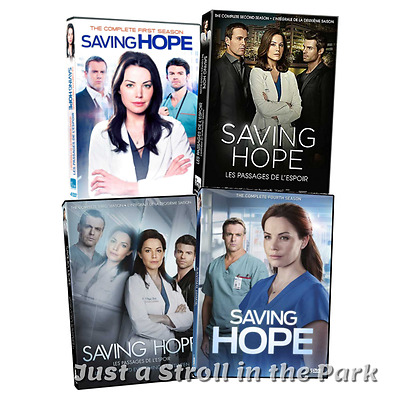 Saving Hope: Erica Durance TV Series Complete Seasons 1 2 3 4 Box/DVD Set(s) NEW