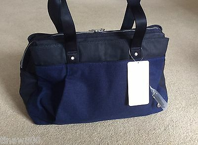NEW LULULEMON Om The Day Bag Sapphire Blue NWT Gym OverNight Duffel Shoulder Bag
