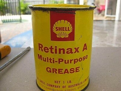 Shell Grease Tin - Vintage