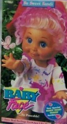 Babyface Galoob So Sweet Sandi Doll #1 In Series HTF RARE