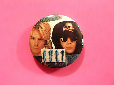 The Cult Vintage Badge Button Uk Made