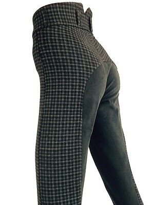 New Ladies Black Breeches, Womens Jodhpurs, Jodphurs, Full Seat Suede Sizes 8-18
