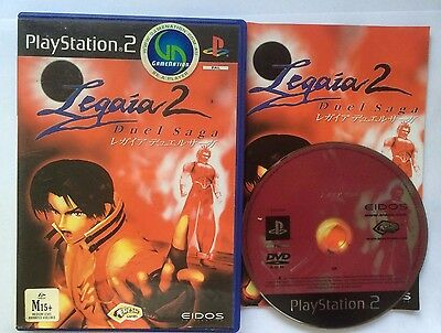 Legaia 2: Duel Saga (Sony PlayStation 2, 2002) Complete Excellent Condition