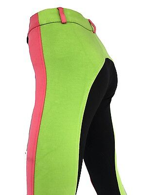 Girls Jodhpurs, Kids Rainbow Jodphurs, Coloured Riding Pants. Sizes 8,10,12,14