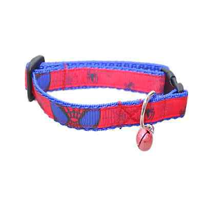 Spiderman Superhero Cat Kitten Puppy Small Dog Collar **EXCLUSIVE TO DOTTIE'S** • EUR 8,75