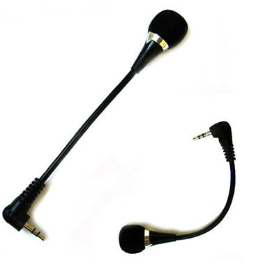 Mini 3.5mm Noise Canceling Flexible Microphone Mic For PC Laptop Notebook Skype