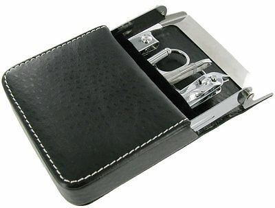 Mens 6 Piece Manicure Set/ideal For Travel /great Gift Pocket Size