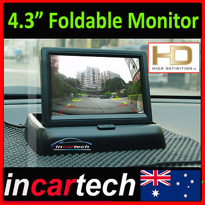 """4.3"""" inch Foldable LCD Screen Monitor for Car Truck Rear Reverse Rearview Camera"""