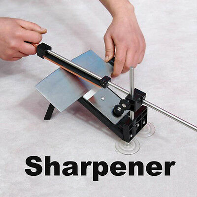 Kitchen Cutlery Knife Sharpener System Fix-angle 4 Stones Sharpening System BEST