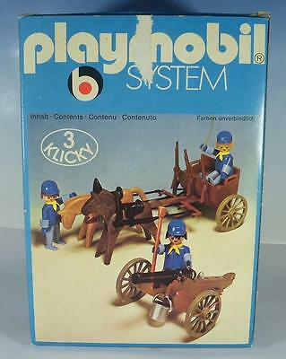 Playmobil Klicky 3244 Western Nordstaaten Protze & Kanone in O-Box 70er Jh#25