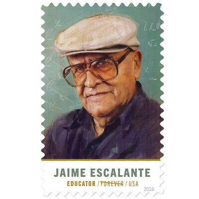 USPS New Jaime Escalante pane of 20