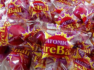 Atomic Fireballs Hot Fresh Candy By The Pound~  Individually Wrapped