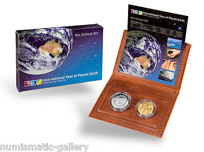 Australia  2008 International Year Of Planet Earth  2-Coin Proof Set