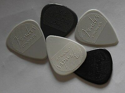 Fender  Guitar Picks Nylon X 5 Picks 1.14mm, 1.0mm, 0.88mm, 0.60mm or 0.46mm