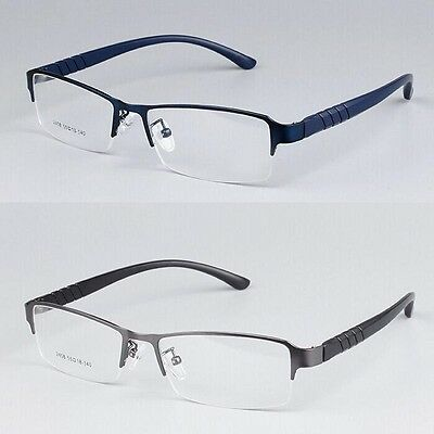 af54b3fbba82 Men TR90 Sport Half rimless Eyeglass Frames Myopia Glasses Optical Eyewear  Frame