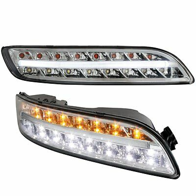 Porsche 911 997 04-08 Facelift-Optik Standlicht, Led Blinker, Nebelscheinwerfer