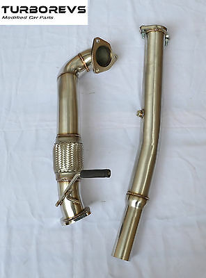 Audi S3 Tt Seat Leon Cupra R 1.8T Stainless Steel Exhaust Turbo Decat Downpipe