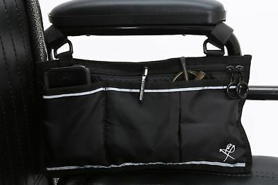 Pembrook Wheelchair Side Bag - Black - Great Accessory for your mobility devi...