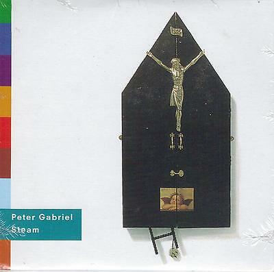 PETER GABRIEL  Steam  3 versions  promo CD single with PicCover  STILL SEALED!!!
