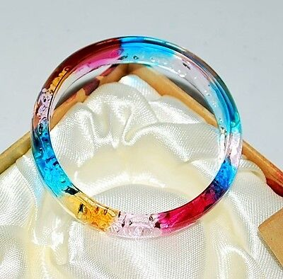 Colored glaze bracelet Valentine Birthday shower gift for her