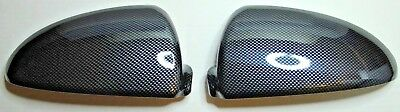 2x SMART FORTWO CARBON LOOK MIRROR CAP REPLACEMENT BRAND NEW CAPS FOR TWO BRABUS