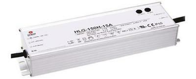 Mean Well HLG-150-42A, Constant Voltage Dimmable LED Driver 151.2W 42V dc 3.6A