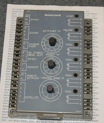 Honeywell W7100A 1053 Discharge Air Temperature Controller