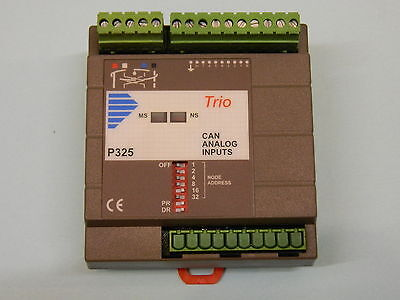 Trio Motion Technology P325 Analog Input Unit