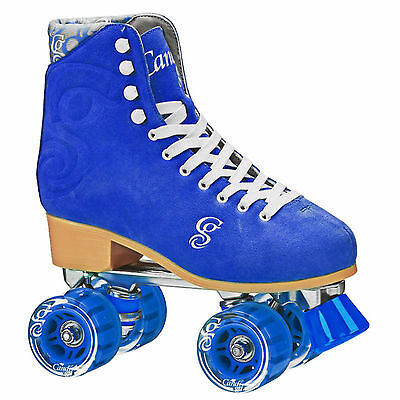 New Candi Girl Carlin Blue Roller Skates Girls Ladies Size 3-11