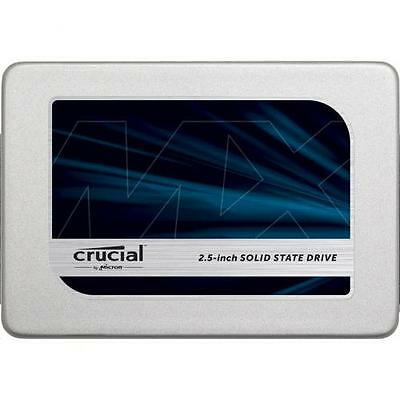 NEW Crucial MX300 525GB 2.5 inch SSD, 7mm & 9.5mm adaptor ,  530MB/s reading & 5