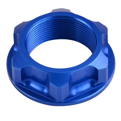 CNC Billet Aluminum Steering Stem Nut Bolt For Yamaha YZ250F 01-18 YZ450F 03-18