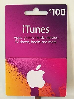 $100 AUSTRALIAN iTUNES GIFT CARD - SUPER FAST DELIVERY
