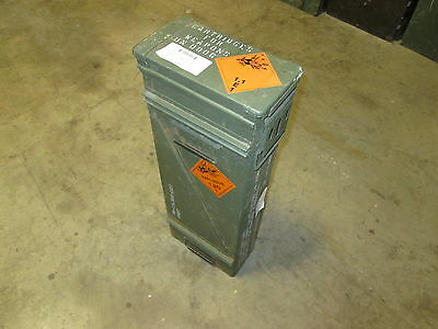 Pallet of 20 Military Waterproof Steel 120mm Ammo Cans for Survivalist, Preppers