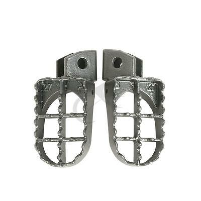 Footrest Foot Pegs For Yamaha YZ80 1996-2005 YZ125 250 1987-1996 YZ500 1987-1993