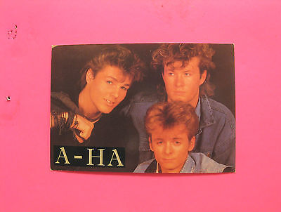 A-Ha Vintage Postcard  Uk Import