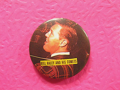"Bill Haley Vintage 1"" Button Pin Badge Uk Import"