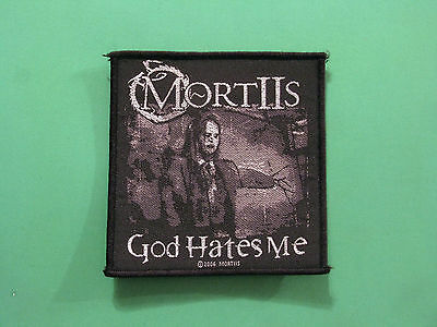 Mortiis Official 2006 Woven Patch Sew On  Uk Import