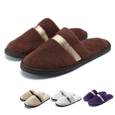 Homme Femme Unisexe Hiver Mules Chaussons Chaussures Pantoufle Tongs Sandales