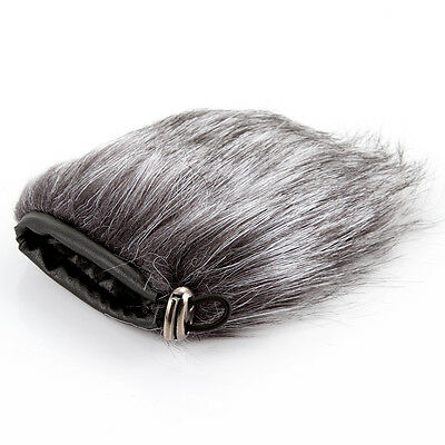 9cm Microphone Windshield Fur Wind Muff Noise Windscreen For Camera Recorder New