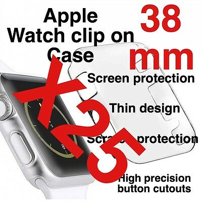 X25 Apple Watch 38mm Clip On Case Screen Protector